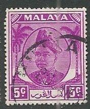 Malya - Selangor || Scott # 95 - Used ©