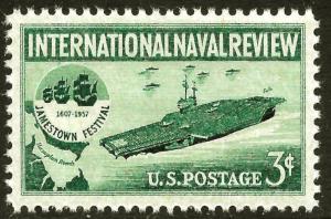 Scott 1091   3¢ Int'l Naval Review MNH Single