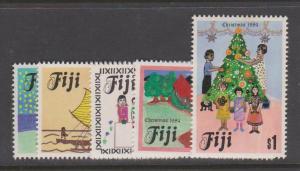 Fiji Sc#518-522 MLH