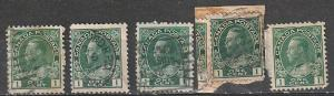 #104 Canada Used & Mint