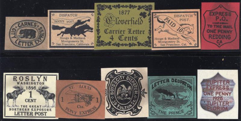 Small Collection of Fakes/Forgeries - Group of 10 - Multicolored
