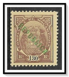 Mozambique Company #71 Coat Of Arms Overprinted MH