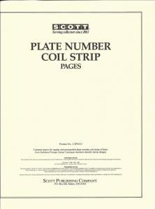 SCOTT PLATE # COIL STRIP PAGES,1981/2006, w BINDER/SCOTT MOUNTS, NICE,SHIPS FREE