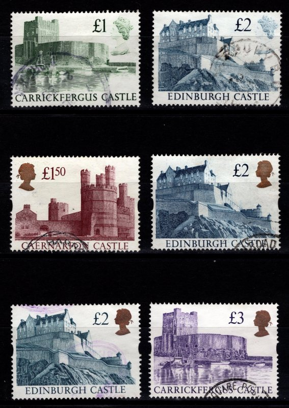 Great Britain 1988-1997 Castles (high value) [Used]