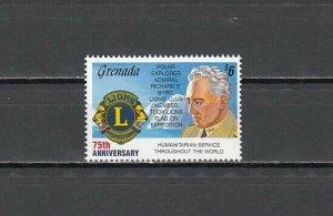 Grenada, Scott cat. 2148. Lion`s International value from Anniversaries issue. ^
