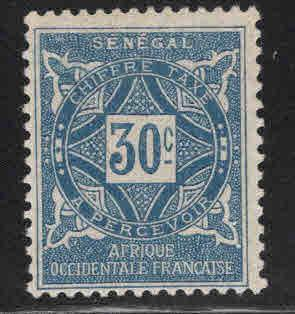 Senegal Scott J16 MH* 1914 postage due
