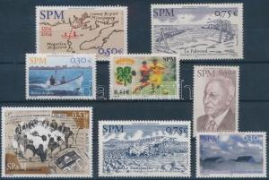 St. Pierre and Miquelon stamp 2004-2005 8 stamps MNH 2004 WS197739