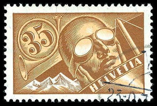 SWITZERLAND C6  Used (ID # 72354)