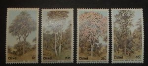 South Africa Ciskei 46-49. 1983 Trees, NH