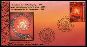 351 UN - Geneva Int'l Year of Thanksgiving OFDC