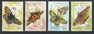 Belarus 2004 Butterflies 4 MNH stamps
