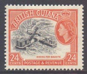 British Guiana Scott 282 - SG360, 1963 St Edward's Crown 24c MH*