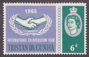 Tristan Da Cunha 88 International Cooperation Year 1965