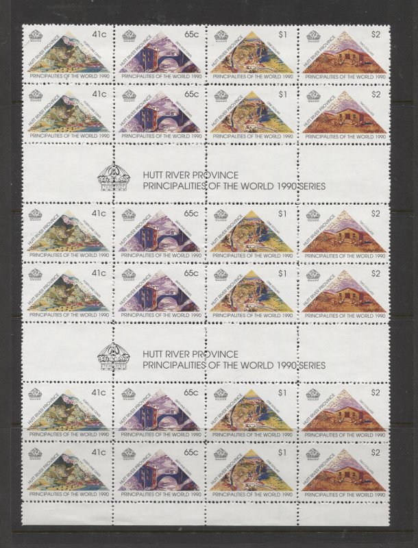 STAMP STATION PERTH Hutt River Province # Principalities of World MNH 1990