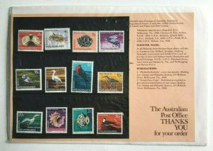 MCK98) Cocos Keeling Islands 1969 Definitives JAPANESE Insert Stamp Pack MUH