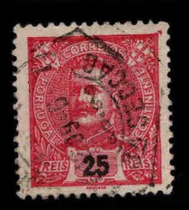 PORTUGAL Scott 117 Used  King Carlos stamp