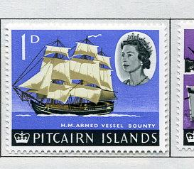 Pitcairn Islands MVLH Scott Cat. # 40
