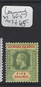 LEEWARD ISLANDS  (P2608BB)  KGV SG 57   MOG