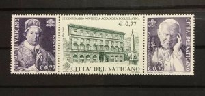 Vatican City Sc# 1214 MNH Strip of 3 - 2002 Pontifical Ecclesiastical Academy