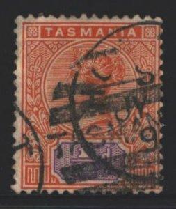Tasmania Sc#76 Used