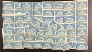 1029   Columbia Universary.  100 count  3¢ mint stamps.  Issued in 1954.