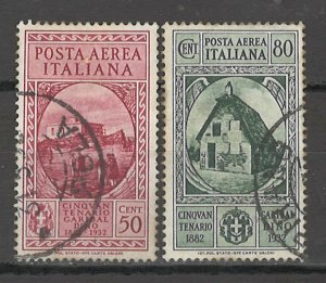 COLLECTION LOT # 5417 ITALY #C35-C36 1932 CV+$21