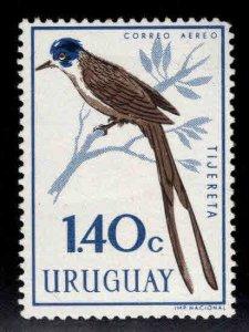 Uruguay Scott C251  MH* Bird stamp