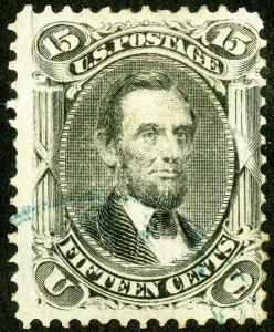 US Stamps # 98 Used Fresh light blue cancel