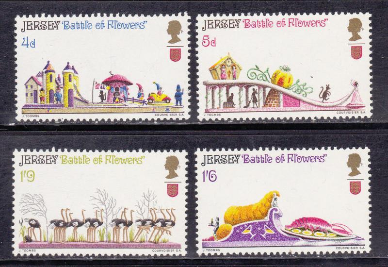 Jersey MNH 30-3 Battle Of Flowers Parade 1970