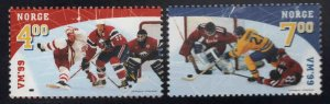Norway Scott 1222-1223 MNH** 1999 Hockey set