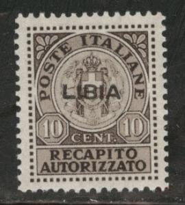 LIBYA Scott EY2 MNH** 1941 Authorized delivery stamp CV$30