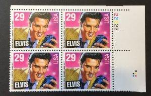U.S. 1992 #2721 PB, THE KING OF ROCK N ROLL, MNH