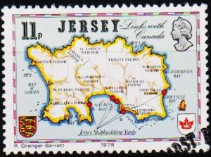 Jersey. 1978 11p S.G.193 Fine Used