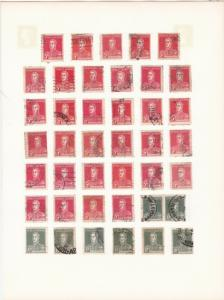 argentina stamps & cancel study page  stamps from 1923 ref r12995