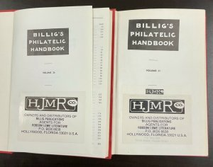 Billig's Philatelic Handbook Vol 36- 37 Part I & II British Empire Postage
