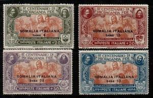 Somalia Scott 51-4 Mint hinged (Catalog Value $33.00)