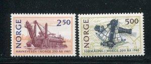 Norway #869-70 MNH