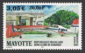 Mayotte C5,MNH. Dzaoudzi Aero Club,2001.