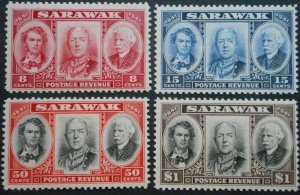 Sarawak 1946 GVI Centenary set SG 146/149 mint