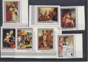 Hungary 1970 MNH Paintings Stamps Ref: R6989