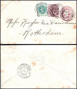 Goldpath: England cover 1901, to Netherlands _CV15_P9