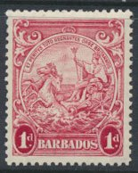 Barbados  SG 249 SC# 194b  Perf 13½ x 13    MNH  see detail and scans