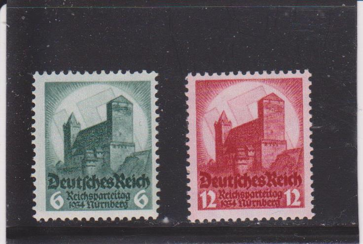 Germany 442-443 Mint Hinged