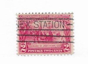 U.S. #327 Used CAT VALUE $4.50