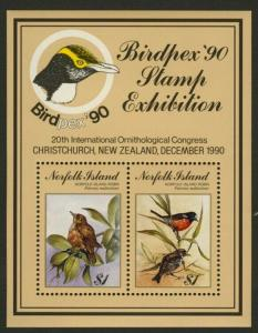 Norfolk Island 500 MNH Birds