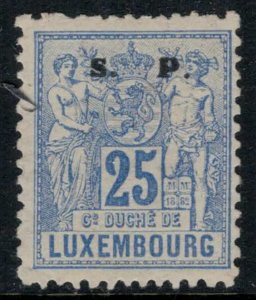 Luxembourg #O59*  CV $19.00