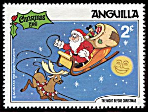 Anguilla 454, MNH, Disney The Night Before Christmas 1981