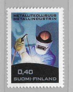 Finland 479 1968 Metal Industry single MNH