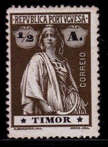Timor - #156 - 1914 - MH - CV$.25