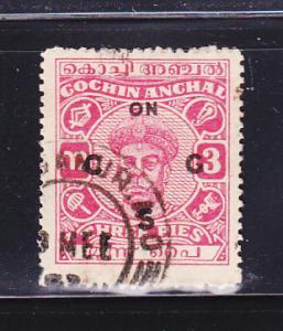 India Cochin O81 U Maharaja Ravi Varma